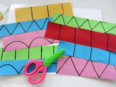 """Simple cutting from Learn with Play at Home ("""",)"""