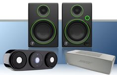 Whether you're playing games, watching youtube videos, or listening to music, these speakers will have provide the quality sound you crave.