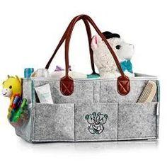 Travel Nursery Storage Tote Bag f/ür Mama Kinder Spielzeug Wickelkommode Aufbewahrungskorb Taschen Baby Windel Caddy Organizer