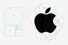 Apple logo and the golden ratio - Web Design blog