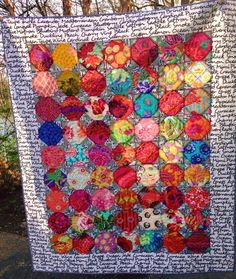 We LOVE for quilters to share their creations! Here's one by Sharon Turskey‎. She made this just playing around with the @AccuQuilt GO! Snowball die! Thanks for sharing Sharon!