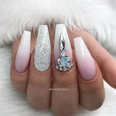 "Fria händer: French Fade, LE ""Diamond"" & Swarovski"