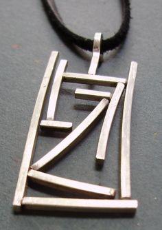horizon pendant by delisadesigns on Etsy, $82.00
