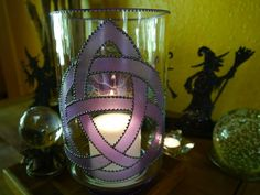 Witchcrafts Hand Painted Glassware
