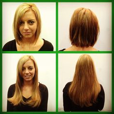 """@Victoria Casciola's photo: """"HOTHEADS!before and after length! @Sheenon Olson"""""""