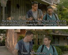 21 Jump Street yep keys to coolness in high school Funny Movies, Great Movies, Comedy Movies, Movies Showing, Movies And Tv Shows, Polar Express Movie, 21 Jump Street, Favorite Movie Quotes, Movie Lines