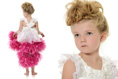 www.frostedproductions.com | #utah #child #photographer #fashion #photography #little #girl #hair #ideas #fluffy #dress #feathers #studio