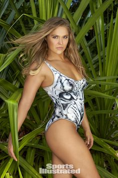 Ronda Rousey Swimsuit Body Paint Photos, Sports Illustrated Swimsuit 2016