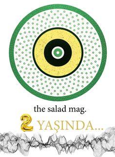 the salad mag. 2 yaşında...