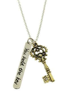 """You Hold the Key"" Necklace"