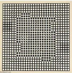 Abstract Composition 11 - (Victor Vasarely)