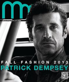 Patrick Dempsey. Photo by Michael Muller for New York Moves.