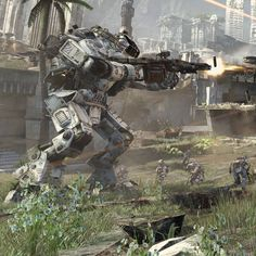 http://www.youtube.com/watch?v=9QtmO4UKciw g Catch up with Respawn's Community Manager Abbie Heppe in MKGaming's Titanfall