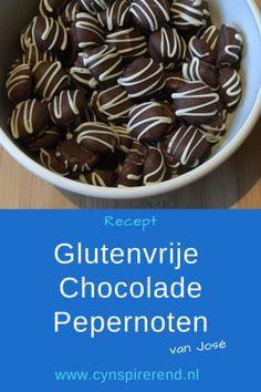 Recept: Glutenvrije Chocolade Pepernoten - Cynspirerend Cereal, Pudding, Breakfast, Desserts, Food, Seeds, Morning Coffee, Tailgate Desserts, Deserts