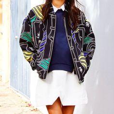 #emmetrend #fashionblogger #trend #streetstyle #streetchic #details #fashion #JUMPER, #POPPYLISSMAN #BOMBER, #KOBEHUSK #MANDALS