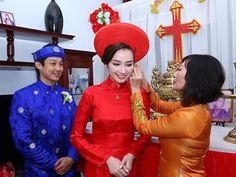 Đám cưới hoa hậu Trúc Diễm [Lễ rước dâu ngày 7/2/2015]