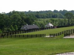 Big pastures for horses