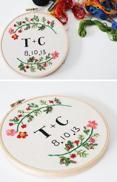 T+C: wedding embroidery - So pretty
