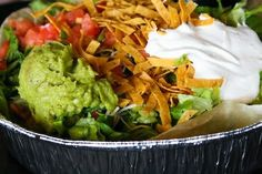 The Cafe Rio Taco Salad, a Utah favorite!
