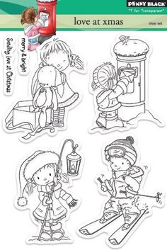 Penny Black - Clear Stamp - Love at Xmas,$14.99