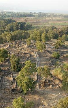 Bethsaida excavations reveal paths of the Apostles.