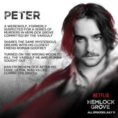 Peter #HemlockGrove