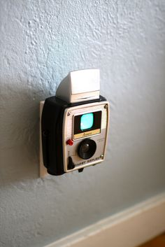Out of junk piles and into wall sockets - see how vintage cameras are getting repurposed for household use.