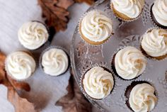 cinnamon chocolate cupcakes with mascarpone frosting - Red velvet cooking & baking: november 2013