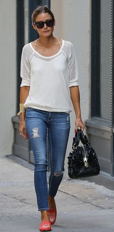 Casual jeans Olivia Palermo