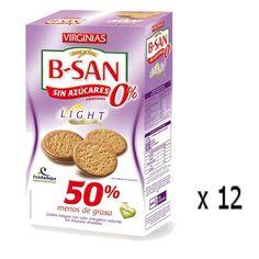Biscuits B-San - sans sucre 180 Grs Virginias - Lot 12