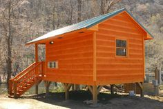 Pigeon River Campground - We have beautiful cabins directly beside the Pigeon River