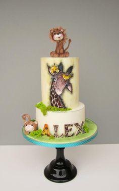animals cake by daruj tortu