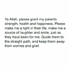 Dua for parents Amin Love Parents Quotes, Prayer For Parents, Muslim Love Quotes, Prayer For Family, Beautiful Islamic Quotes, Islamic Prayer, Islamic Qoutes, Islamic Teachings, Islamic Inspirational Quotes