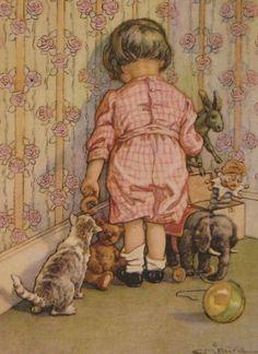 1920 C.M. Burd illustration   Misery Loves Company