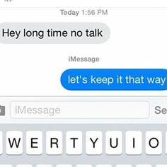 This person who knows what they want and need. | 22 People Who Responded Perfectly To An Ex Text