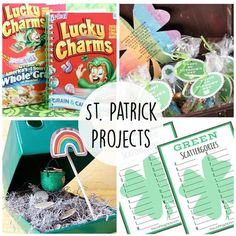 17 St Patrick's Day Crafts and Activities - including so many printables!