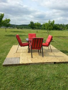 pallet patio part 4 good enough for now will stain and seal it soon - 10x10 Patio Ideas