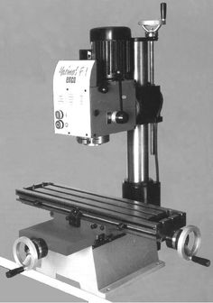 EMCO Milling Machines - pictures and description Cnc Lathe, Lathe Tools, Milling Machine, Machine Tools, Metal Working Machines, Robot Factory, Wood Turning Lathe, Welding Table, Home Workshop
