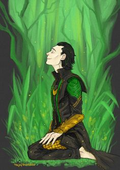 Loki - The Neglected Garden by TashinaJacob