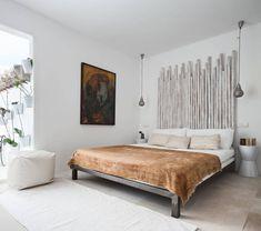 Chambre à la décoration créative et minimaliste