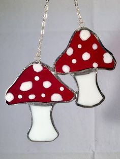 Stained glass Ghosts Stained glass Fairy Mushrooms Halloween
