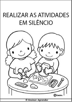 """"""" Cantinho do Educador Infantil """": PLAQUINHAS, REGRAS, COMBINADOS E ROTINA…"""