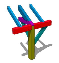 Tie Beam to Plate Tying Joint - Timber Frame HQ