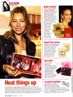 Jessica Biel Heats Things Up - InTouch