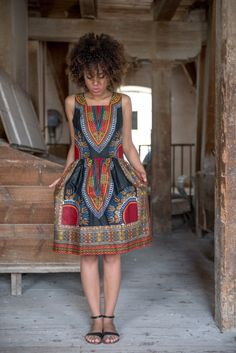 ethno african dress