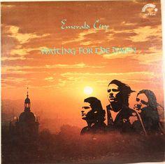 Emerald City - Waiting For The Dawn - Hippopotamus - Canada, 1976 Lp Cover, Cover Art, Emerald City, Psychedelic, Hippopotamus, Dawn, Waiting, Movie Posters, Canada