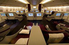 Qatar Airways Business Class