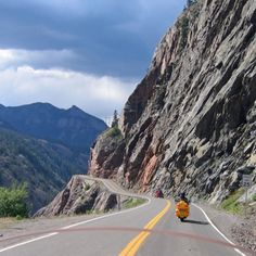Agree with this too! ;)  trail ridge road to Estes Park, Colorado - scariest road I've ever been on, but beautiful mountains