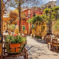 In love with Chania Crete ❤☺ Great picture by @xenia_psyllaki #greece