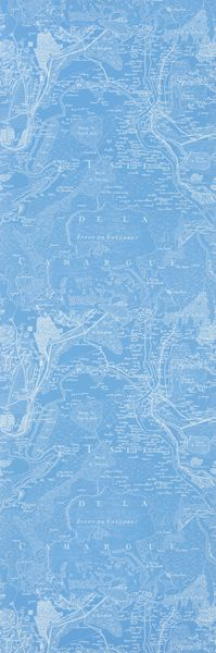 Designers Guild - Voyage - Denim - Wallpaper